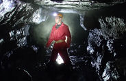 Adventure Caving in Cheddar Somerset